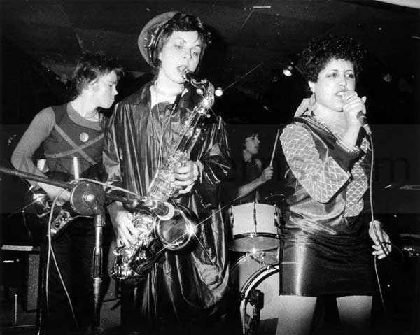 X Ray Spex with singer...