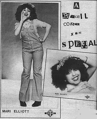 Capa do primeiro single de Poly Styrene, lançado como Mari Elliott.