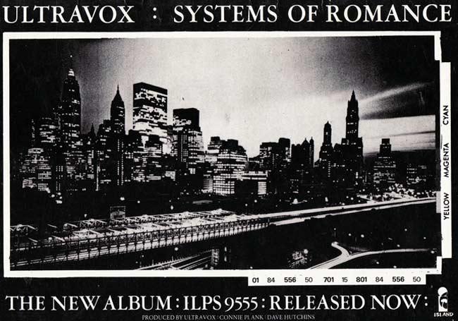 Ultravox - 'Systems Of Romance' album